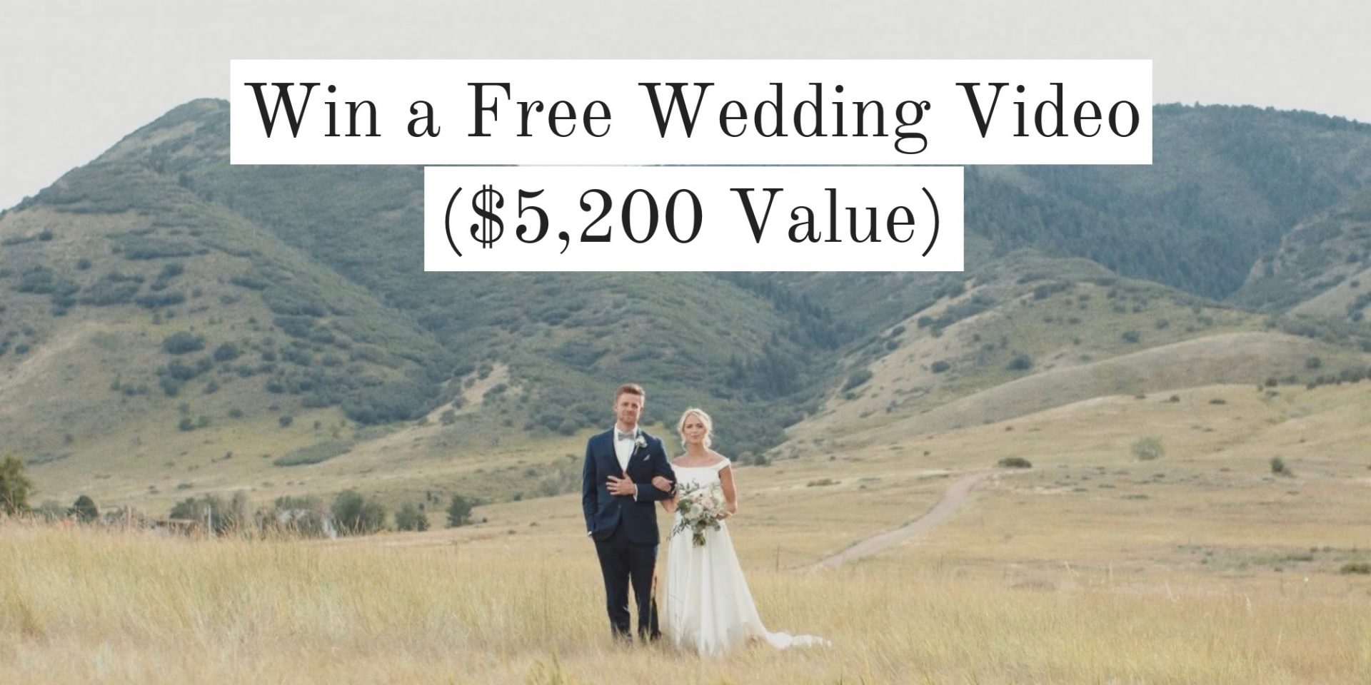 Enter to Win a FREE Wedding Video ($5,200 Value!)