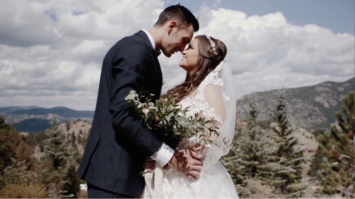 Sophia + Tom | Estes Park, Colorado | Taharaa Mountain Lodge, Estes Park