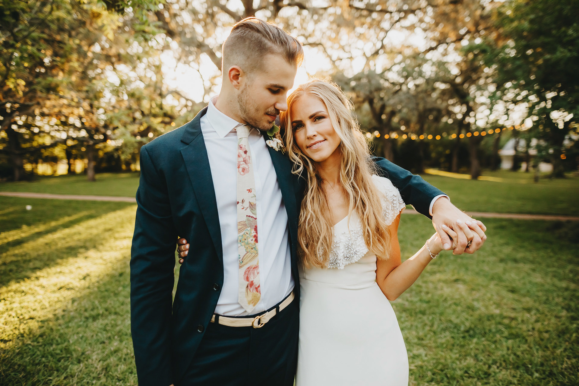 This Bride Designed Her Own Wedding Dress With Anomalie and It's GORGEOUS