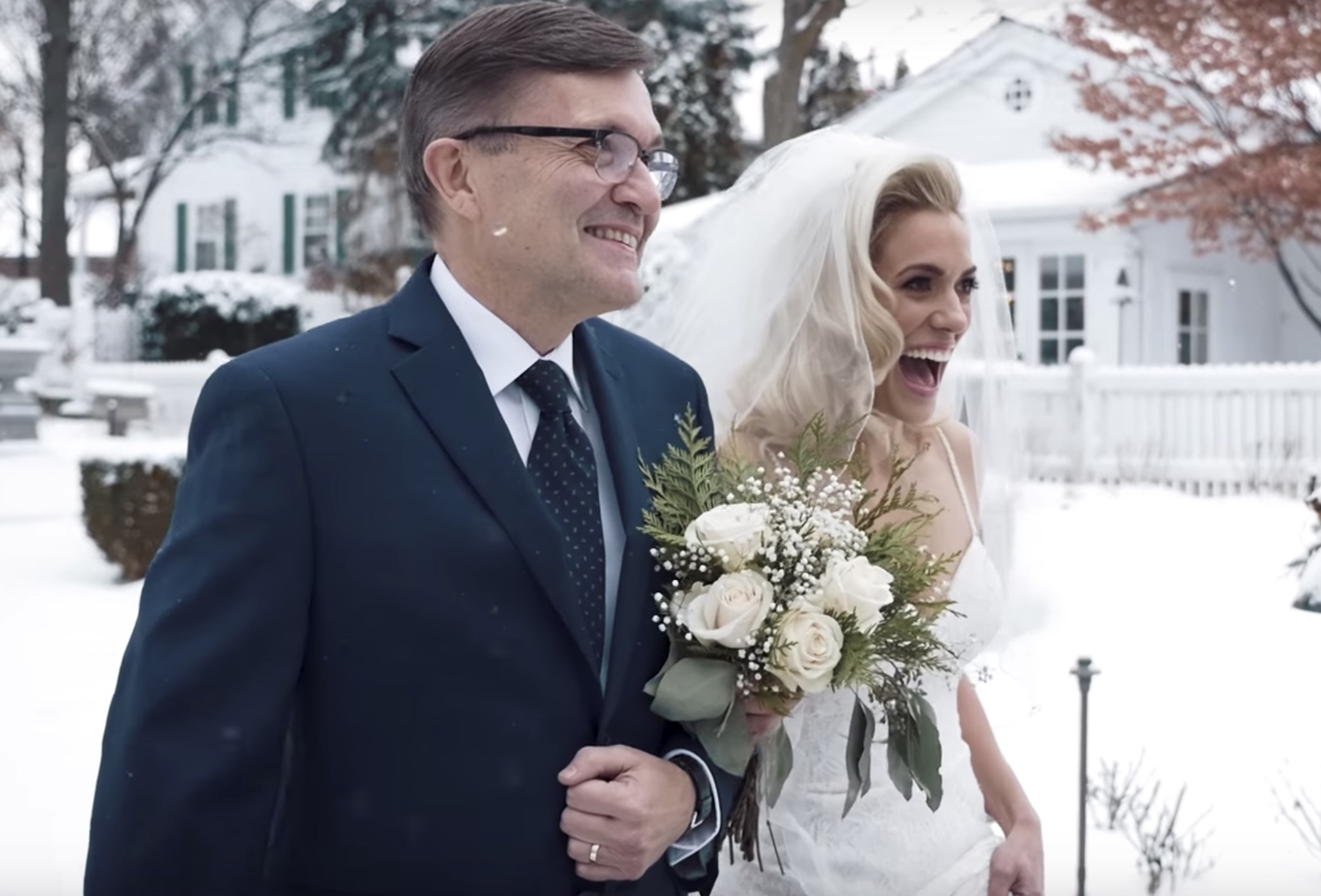 The Most Magical Christmas Wedding You Will Ever See