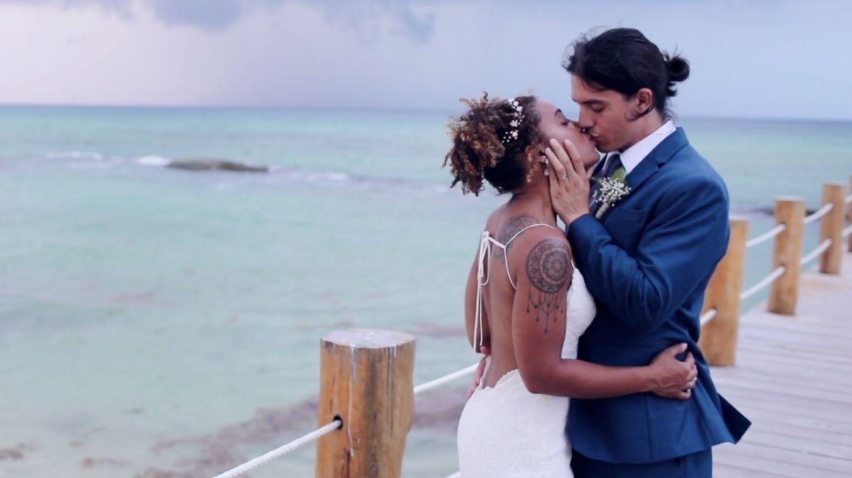Ashley Santana + Kieran Kannapel | Playa Del Carmen, Mexico | The Fives Azul Beach Resort by Karisma Playa del Carmen