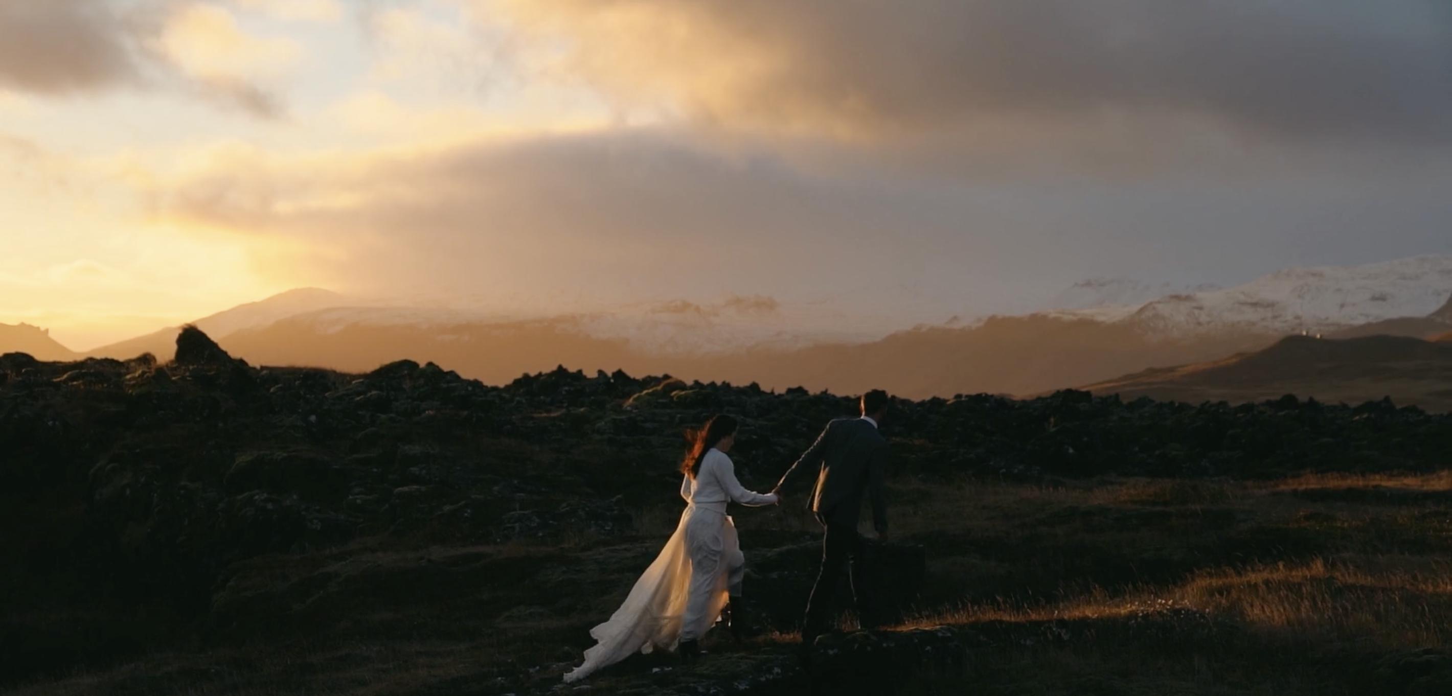 Natalie + Vitali | Hellnar, Iceland | Fosshotel