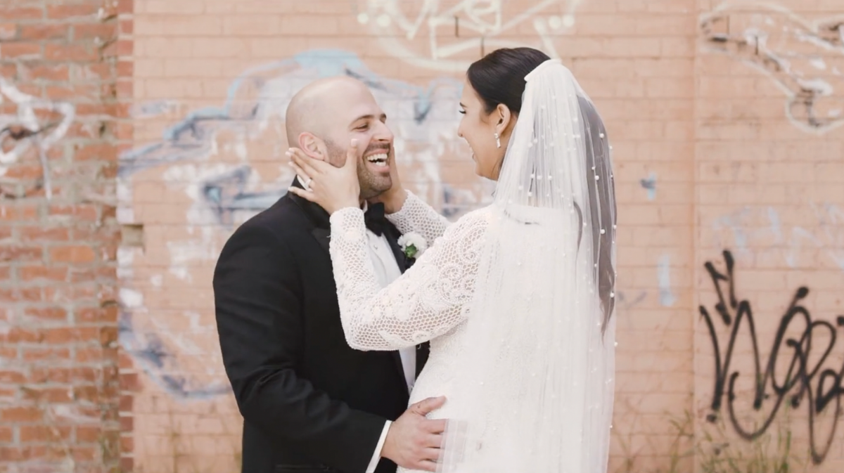Rhiannon + Youssef | Melbourne, Australia | White Night Receptions