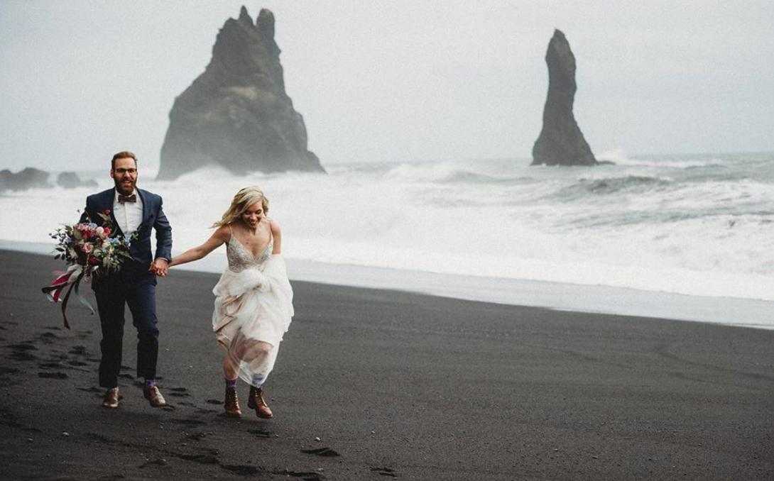 Alex + Sydney | Vik, Iceland | a beach