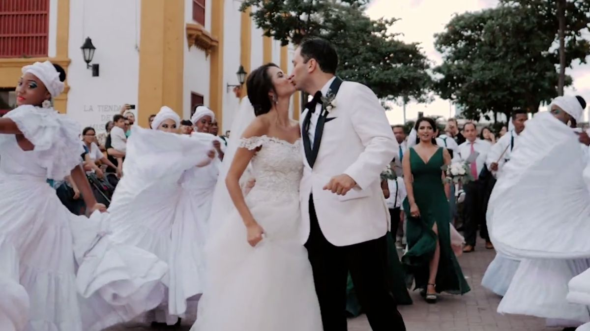 Jennifer + Sam | Cartagena, Colombia | a hotel