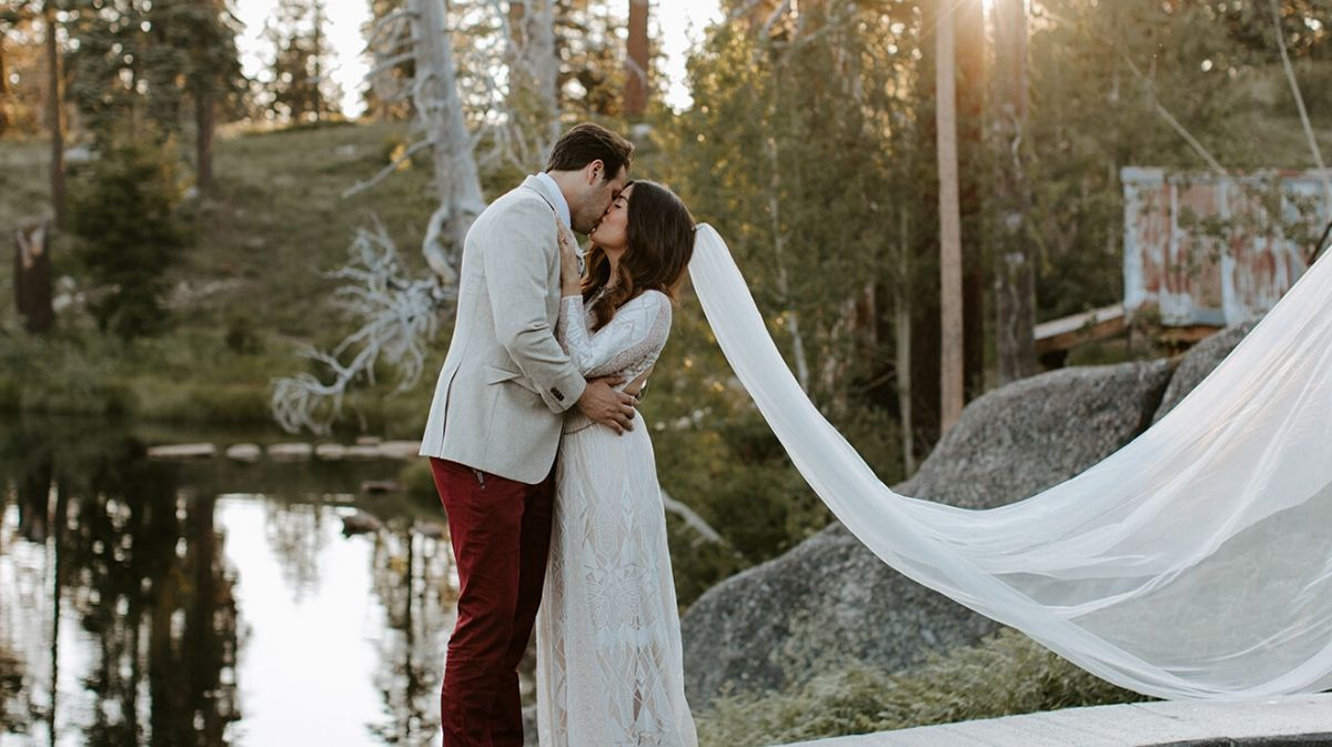 This Couple's Wedding Is a Dream for Festival Lovers