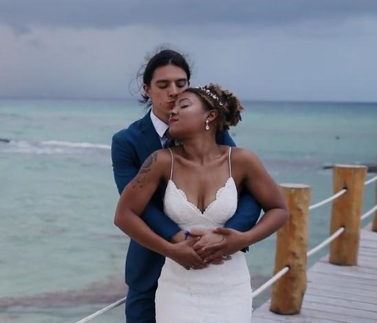 Ashley + Kieran | Playa del Carmen, Mexico | Azul Fives Playa del Carmen