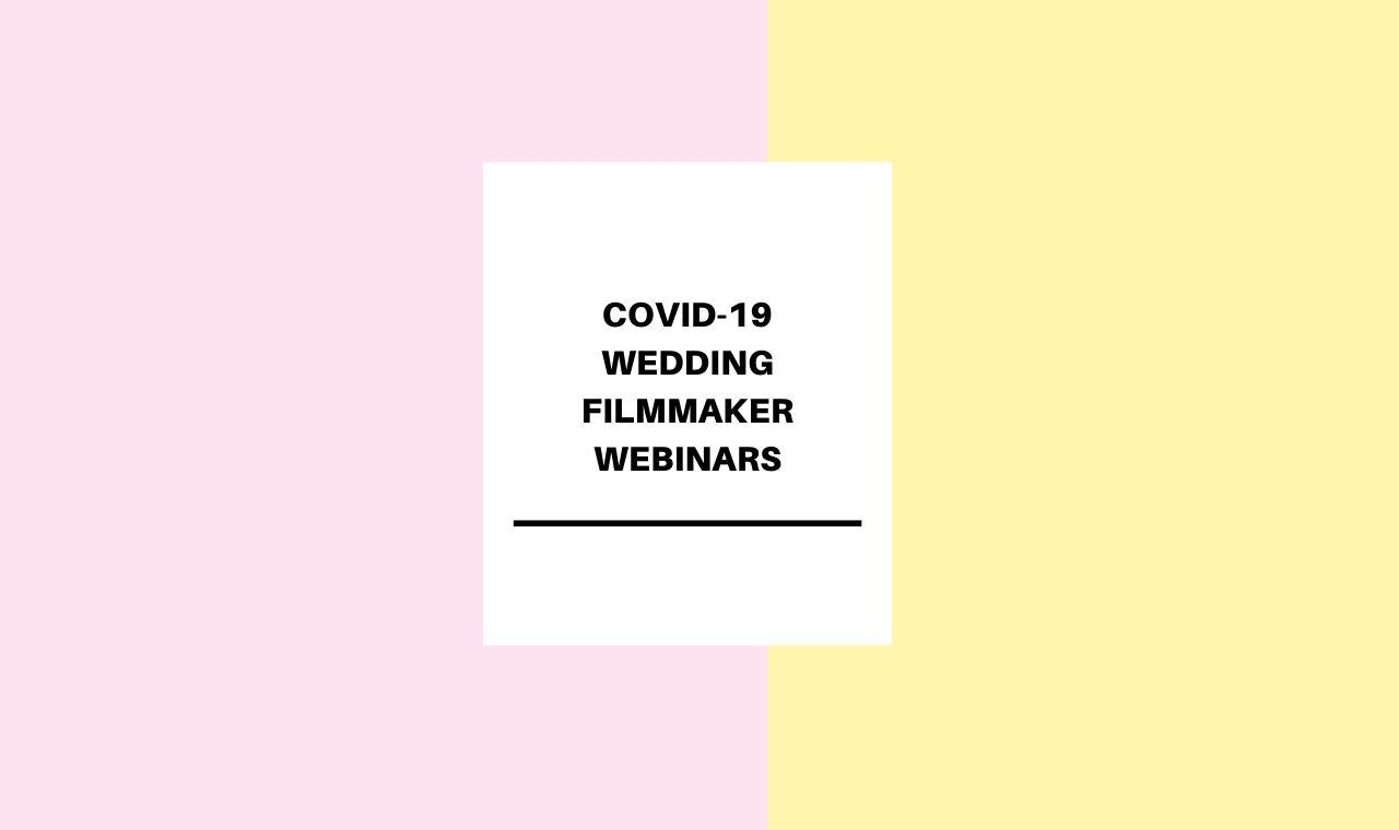 Social Media for Wedding Filmmakers Webinar