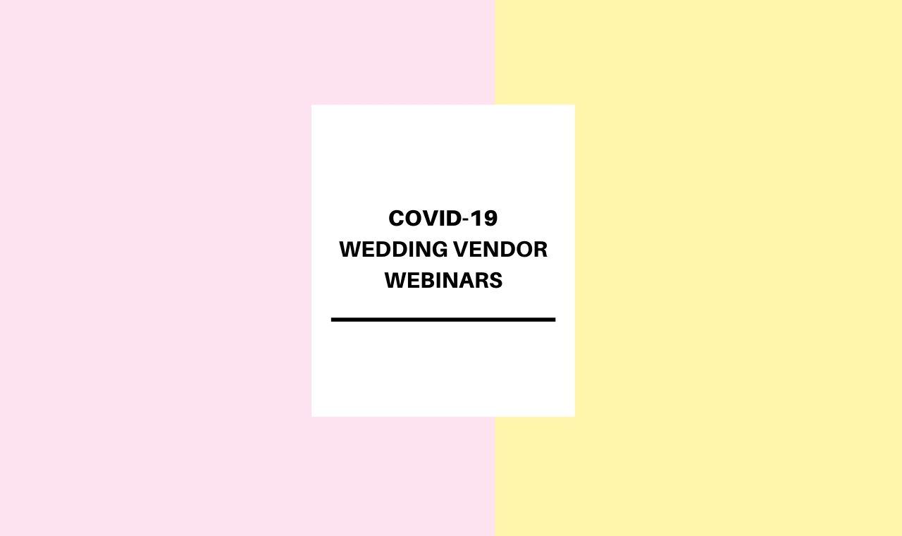 Social Media for Wedding Vendors Webinar