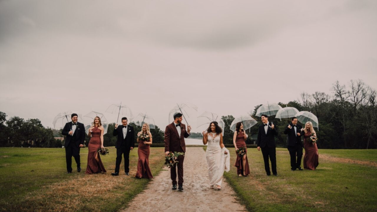 This Couple Exchanged Private Vows Before Their Romantic, Boho Charleston Wedding