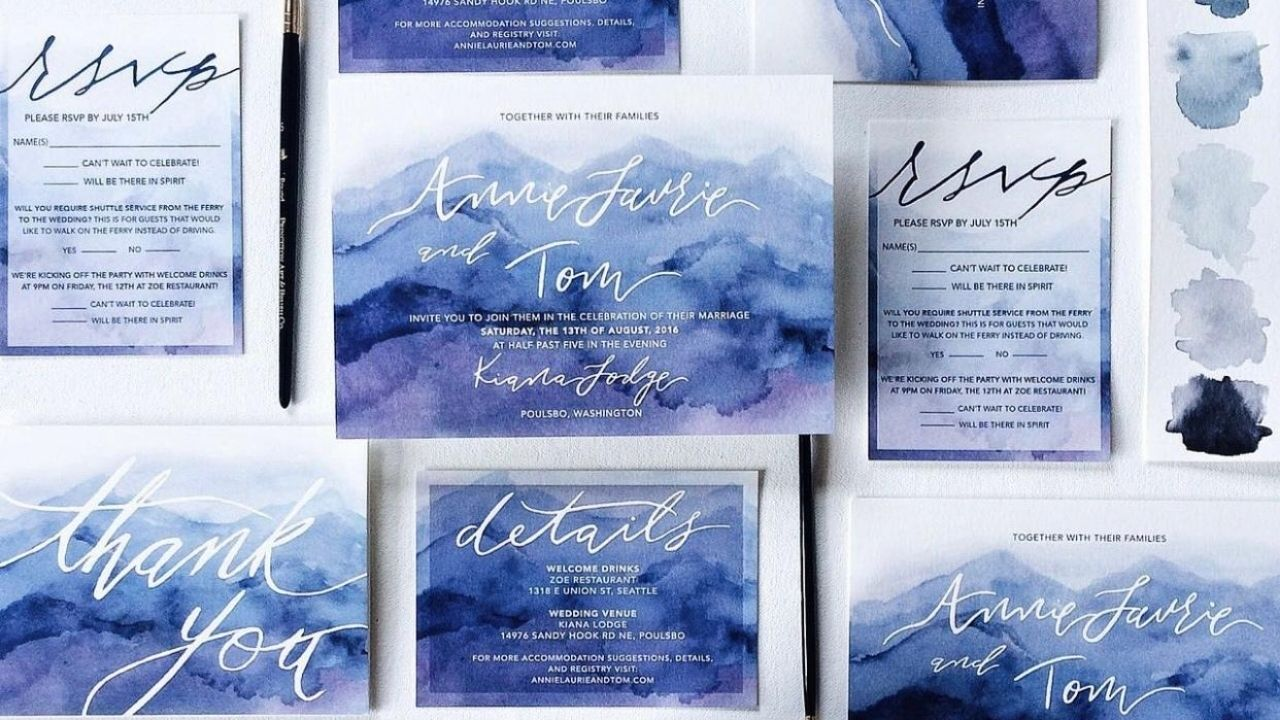 How to Match Your Wedding Invitations to Your Wedding Style