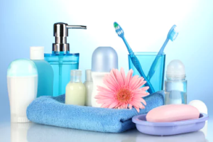 bathroom supplies usually have sulfates