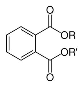 Phthalates chemical structure