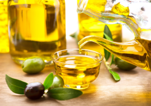 Olive Oil is fantastic at keeping your hair and skin soft and hydrated