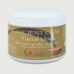 Maple Holistics Natural Ancient Clay Facial Mask with Betonite Clay Benefits
