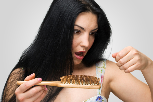 Make sure not to overdo it with the hair brushing.