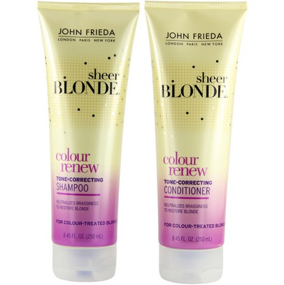 using purple shampoo to remove brassy hair tones shimmer lights. Black Bedroom Furniture Sets. Home Design Ideas