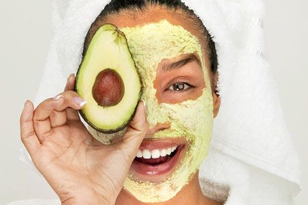 Want to add something to your Face Mask? How about an Avocado.