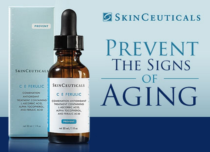 As Skinceuticals says, it really prevents the signs of aging.