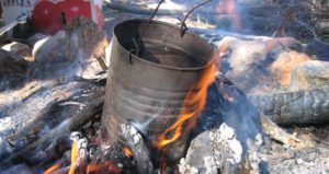 In ancient times, tea tree oil was purified through fire.