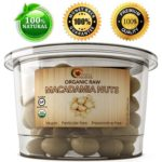 Maple Holistics Organic Raw Macadamia Nuts Featured