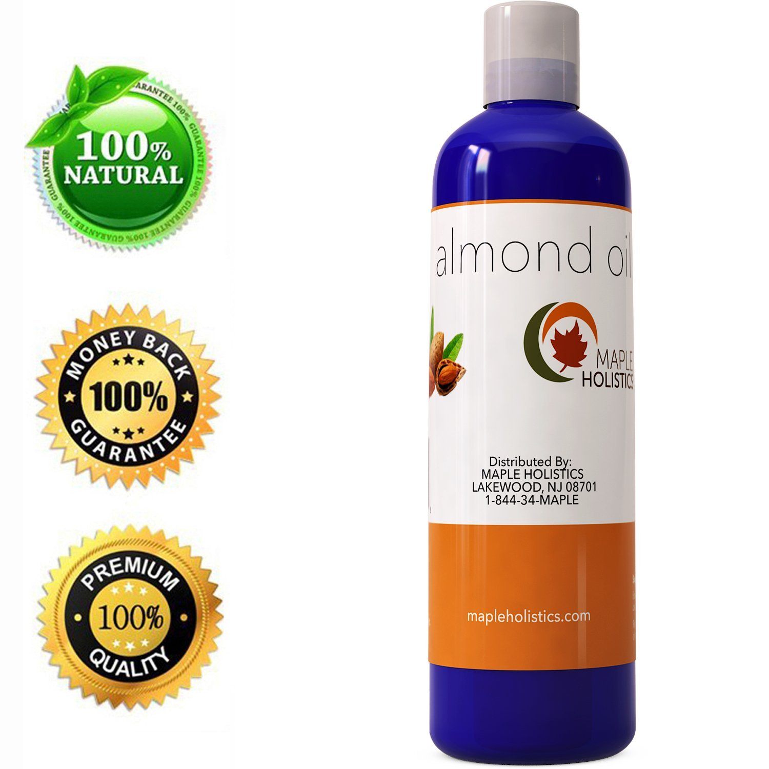 Sweet Almond Oil For Natural Hair Growth