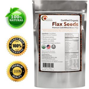 Maple Holistics Organic Flax Seeds