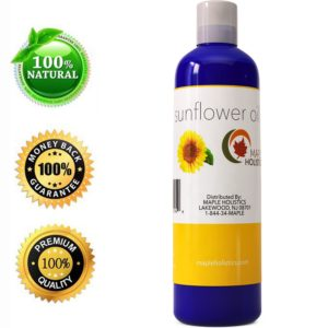 Maple Holistics Natural Sunflower Oil
