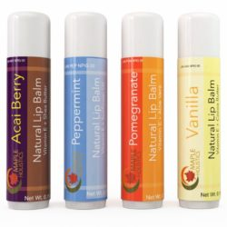 Maple Holistics All Natural Lip Balms 4 Pack