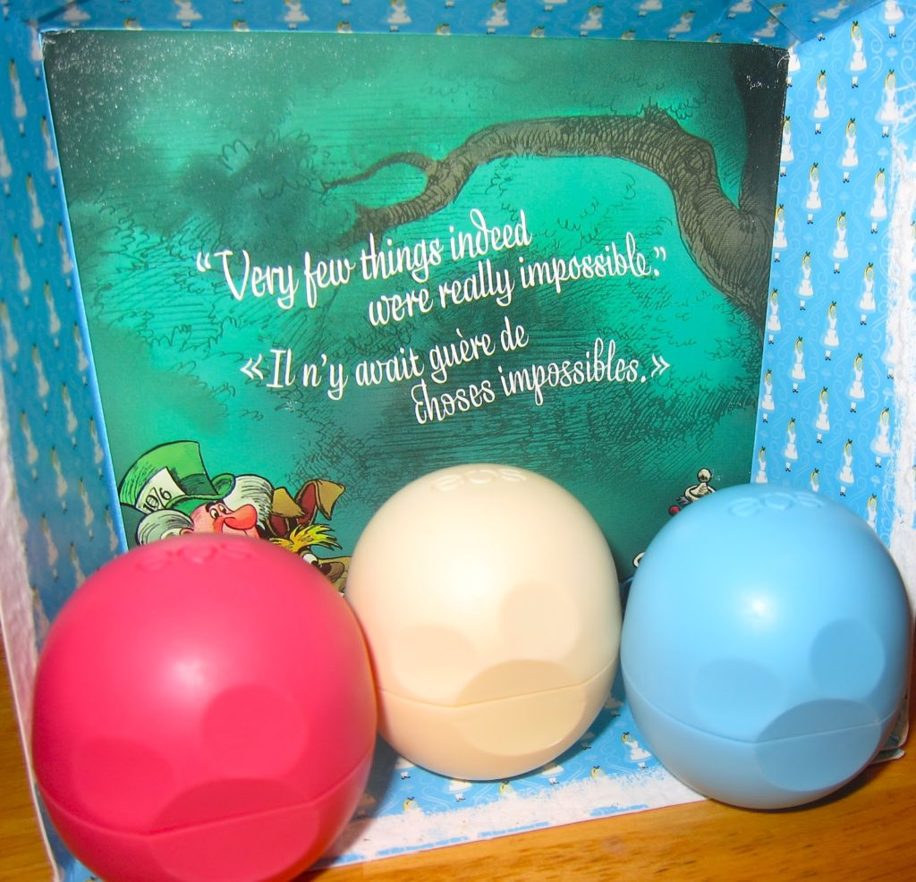 Limited Edition Alice in Wonderland set by eos