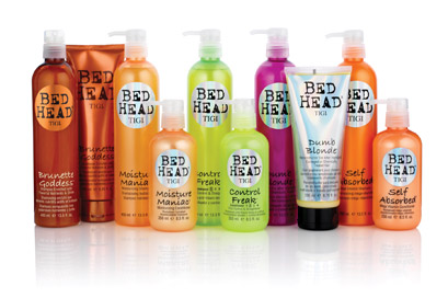 Bed Head by TiGi products