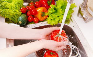 fruit and vegetable rinse