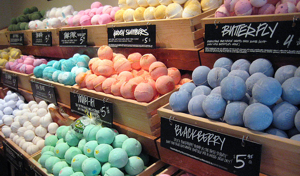Image result for bath bomb lush