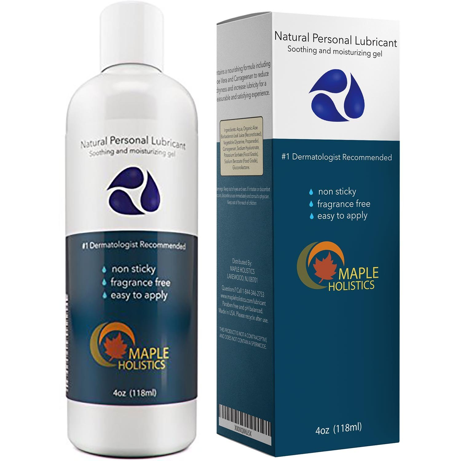 Natural Personal Lubricant For Sensitive Skin