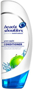 Head and Shoulders green apple conditioner
