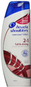 Head and Shoulders full and strong shampoo and conditioner