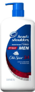 Head and Shoulders old spice men's shampoo