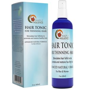 Maple Holistics All Natural Hair Tonic for Thinning Hair