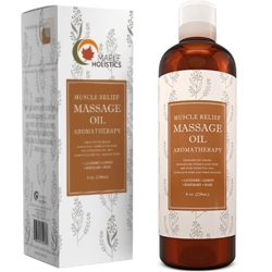 Maple Holistics Pure Natural Muscle Pain Massage Oil
