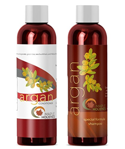 Maple Holistics Argan Oil Shampoo and Hair Conditioner Set