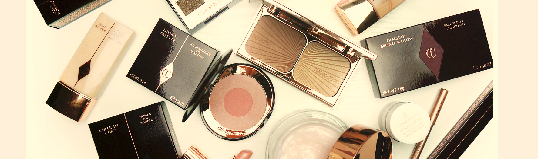 Charlotte Tilbury Products.