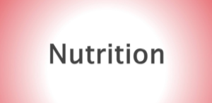 Nutrition Sign.