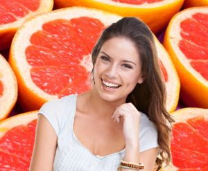 grapefruit can help skin and hair