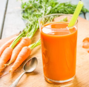 carrot juiced