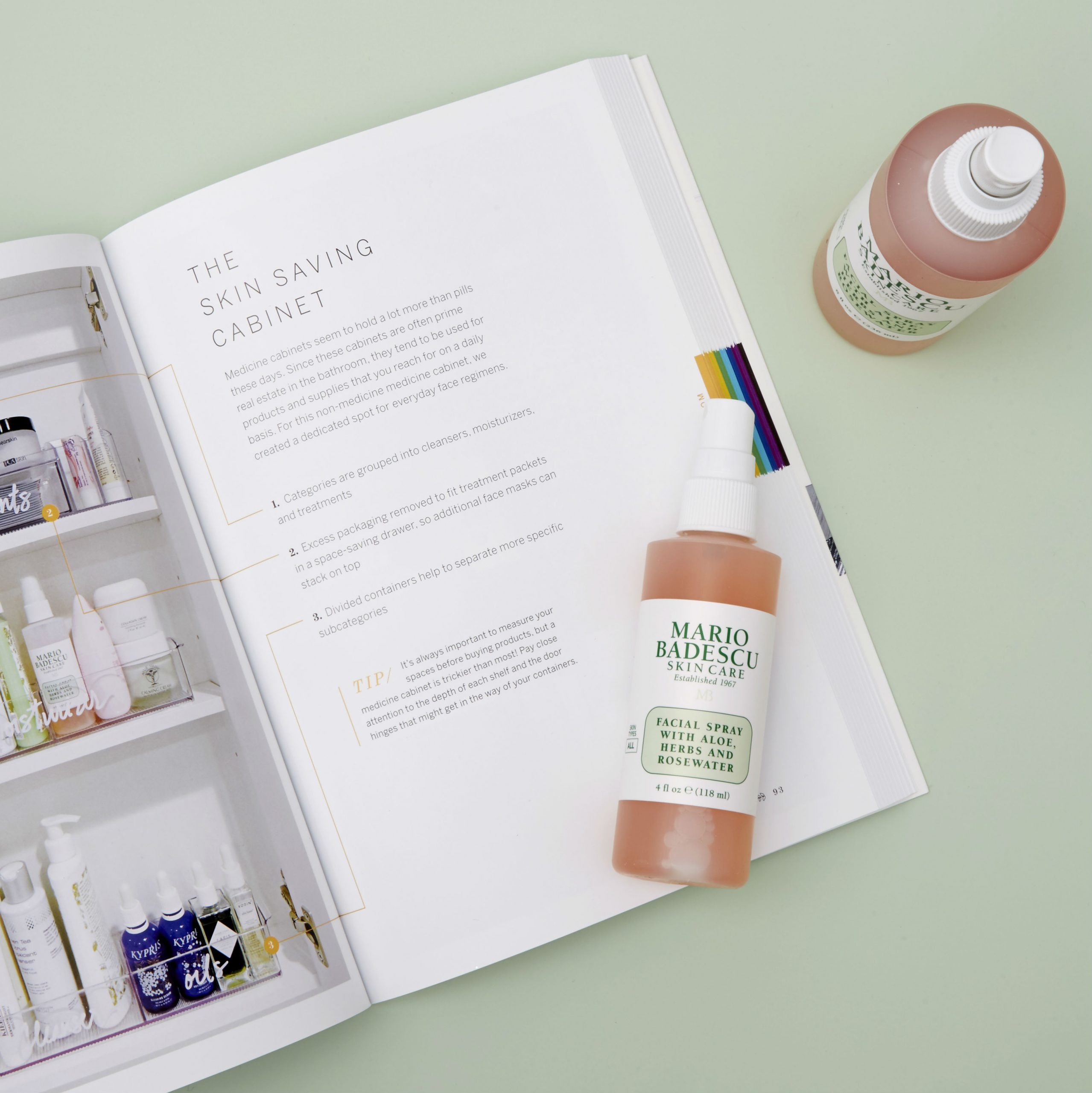 Mario Badescu Facial Spray by Home Edit