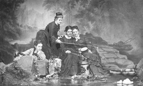 First Graduates, 1873