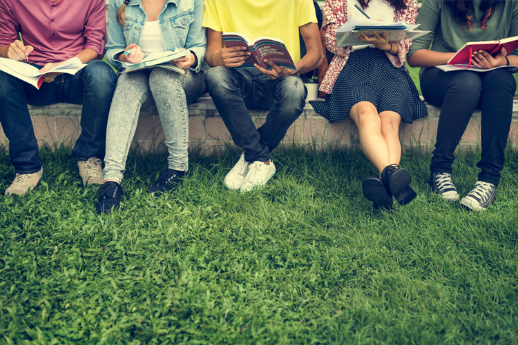 Mental Health Resources for Students and Educators  Students-sitting