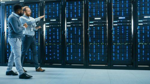 A CTO monitoring a company network.