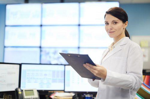 Data engineer specialist monitors key data points.