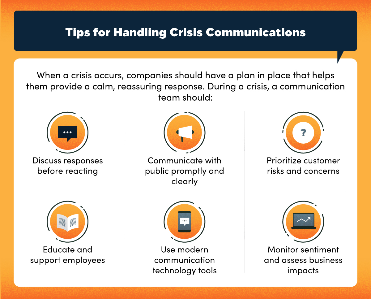 Tips for handling crisis communications